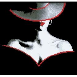 04104 Дама с шапка 4
