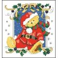 05017 Коледен мечо