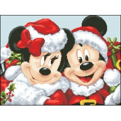 05167 Коледни Мини и Мики Маус