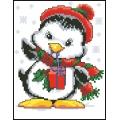 07019 Новогодишен пингвин