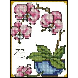 07060 Розова орхидея