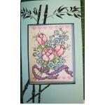 07065 Лалета с лилава панделка