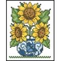 07067 Сланчогледи във ваза