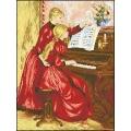 08005 Урок по пиано с детайл