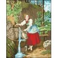 08008 Момиче за вода с детайл
