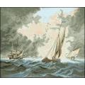 09003 Кораби в бурно море
