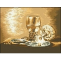 10005 Натюрморт с чаша и маслина