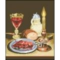 10011 Натюрморт с омар и свещ