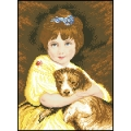 12014 Момиче с куче