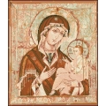 14011 Мадона с младенец стенопис