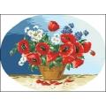 15008 Ваза с полски цветя