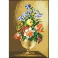 15018 Бронзова ваза с лалета